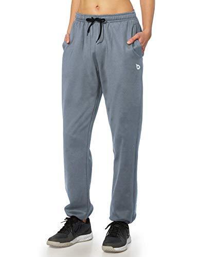 BALEAF Women's Running Thermal Fleece Pants Zipper Pocket Athletic Joggers Sweatpants Adjustable Ankle Winter Track…