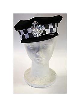 DISBACANAL Gorra de policía Urbano - Azul: Amazon.es: Juguetes y ...