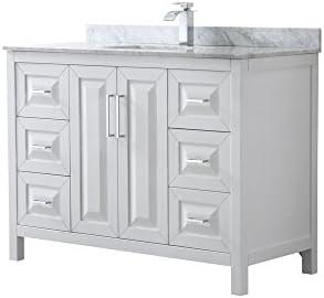 Wyndham Collection Daria 48 inch Single Bathroom Vanity
