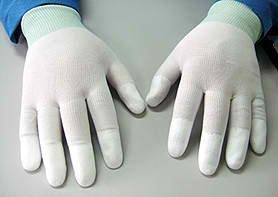 Costumes Ltd London (PU Coated Glove (Small))