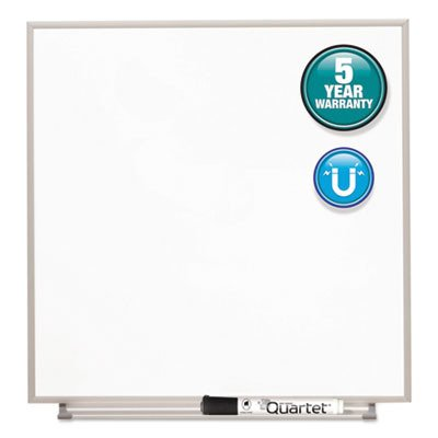 Magnetic Dry Erase Board, Painted Steel, 16 x 16 by Quartet by Quartet