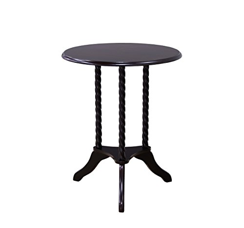 Frenchi Home Furnishing Round End Table, Cherry