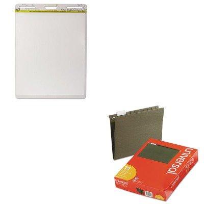 KITUNV14115WZWEP152PK - Value Kit - Wizard Wall Easel Pad (WZWEP152PK) and Universal Hanging File Folders (UNV14115)