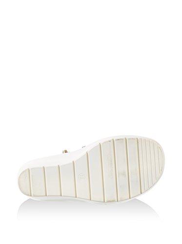 Noir Blanc Plateforme Sandales à Femme Noir He021 Café qgx0Zw