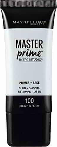 Maybelline Face Studio Master Prime Primer, Blur + Smooth, 1 Fluid Ounce