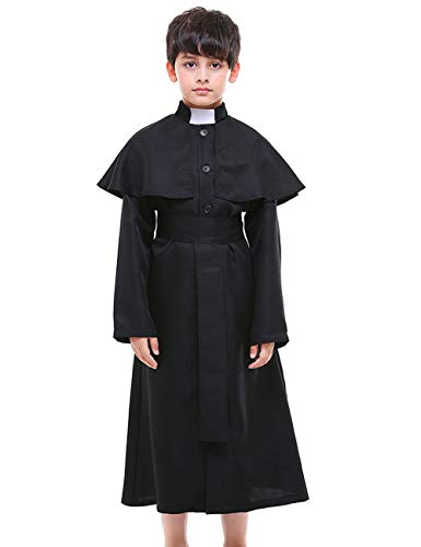 A&J DESIGN Little Boys' Priest Costume (Priest, M)]()