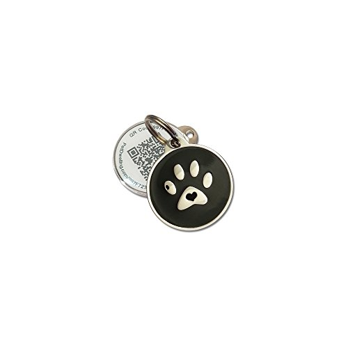 good PetDwelling Advanced QR Code Pet ID Tag w/Online Pet Profile/Scanned GPS Location (HOLIDAY DEAL)