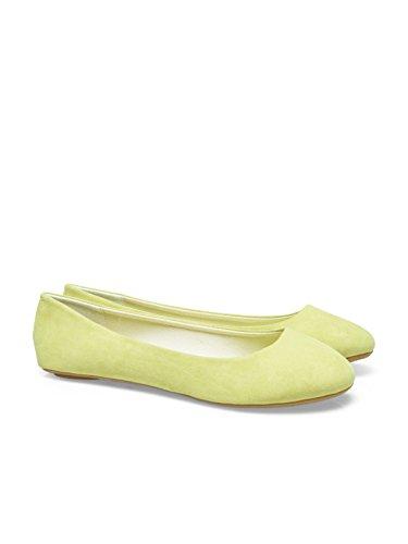 Schuhe True ONLY Blue Damen Ballarina Gelb Pvpw0Oq