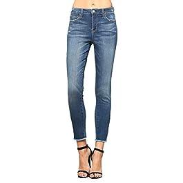 Women's Mid Rise Ankle Skinny Jean