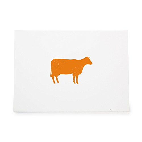 Cow 1 Style 1685 Rubber Stamp Shape great for Scrapbooking, Crafts, Card Making, Ink Stamping Crafts