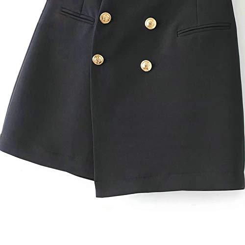 Marque Asymtrique Courte Reveryml Blue Dames Vintage Jupes Mini Hiver Automne Doux Jupes Jupes Femme Femmes Bureau Fminin Jupes RtWw6qgtz