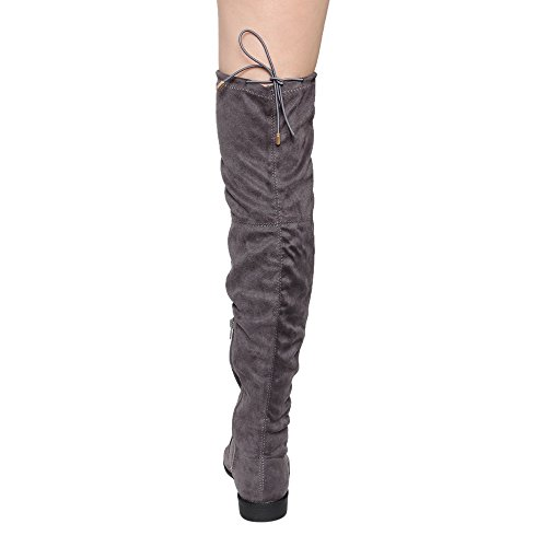 Yoki Damen Anora Fashion Boot Grau