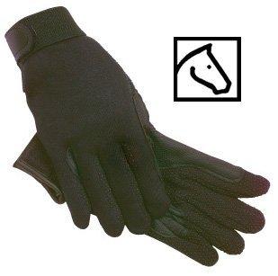 SSG Fleece Lined Winter Gripper Riding Gloves