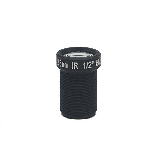 - Xenocam HD 5.0Megapixel 25mm IR CCTV Lens 1/2