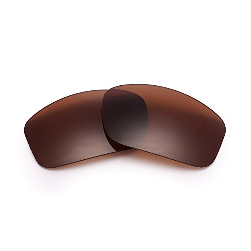 Polarized Replacement Sunglasses Lenses for Oakley Valve New UV Protection Brown 02 (02 Valve)