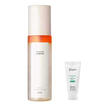 SIORIS Time is running out facial oil mist 100ml/3 38 fl oz  | pH 5 54, 100  Natural Ingredients, 78% Organic,