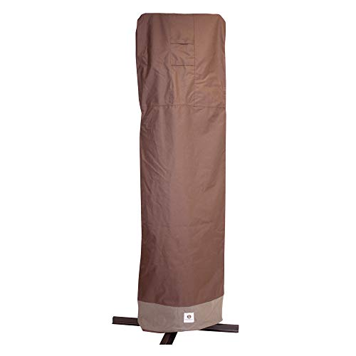 Duck Covers Ultimate Offset Patio Umbrella Cover with Installation Pole