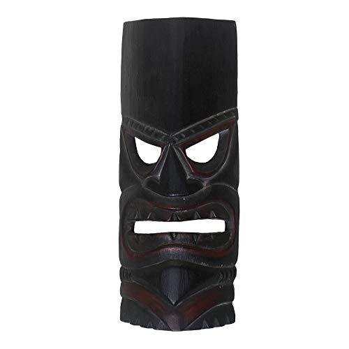 NOVICA 315727 Papua Shield Wood Mask, Brown