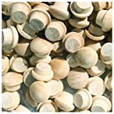 WIDGETCO 1/4'' Maple Button Top Wood Plugs