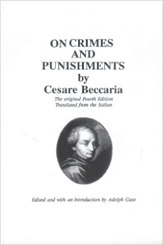 an essay on crimes and punishments international pocket library  an essay on crimes and punishments international pocket library international pocket library cesare beccaria adolph caso 9780828318006 com