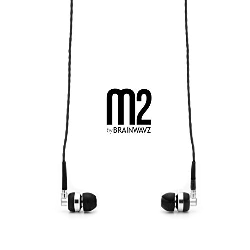 Brainwavz M2 in-Ear Earbuds Noise Isolating Earphones Stereo Headphones