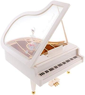 sharprepublic Estilo De Piano con Caja De Música para Niña Mesa ...