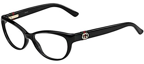 Gucci GG3682 Eyeglasses-0D28 Shiny Black - Frames Gucci Black