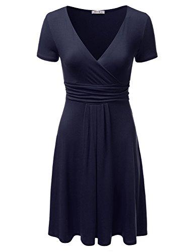 NINEXIS Womens Colored Surplice Sleeve product image
