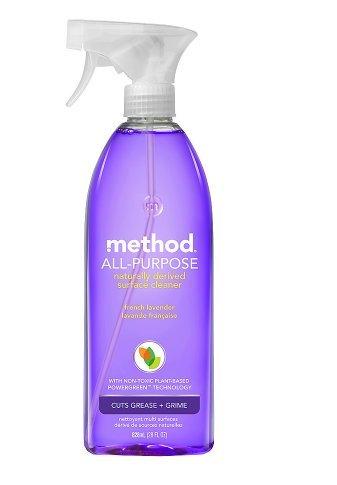 強力な。メソッドall-purpose Surface Cleaner French Lavender scent28.0 FL OZ (1pk) B07BL56DTR