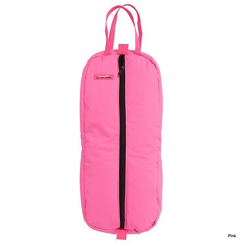 Tough 1 Heavy Denier Nylon Bridle/Halter Bag, Pink