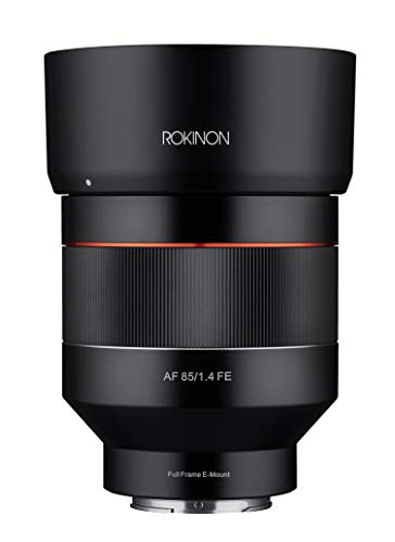 ROKINON IO85AF-E 85mm F1.4 Auto Focus Weather Sealed Lens for Sony E-Mount