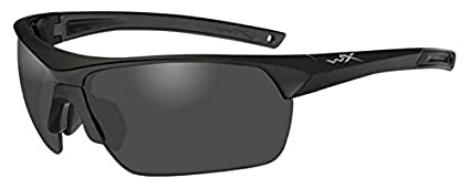 b4c108a617e Amazon.com  Wiley X 4004 Guard Advanced Glasses Smoke Grey Clear ...