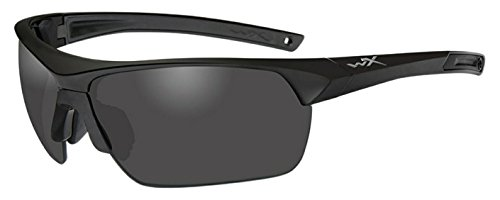 Lenses Wiley Prescription X (Wiley X 4004 Guard Advanced Glasses Smoke Grey Clear Lenses Matte Black Frame)