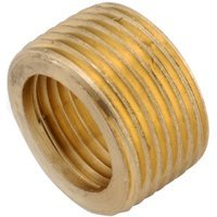 Anderson Metals 736140-0604 Face Bushing Brass -