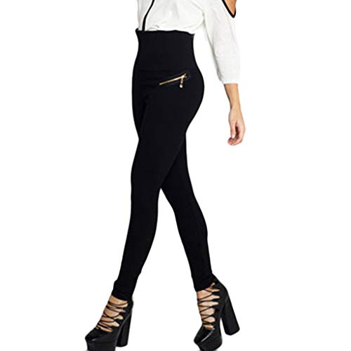 iHPH7 Pants High Waist Running Workout Leggings for Yoga Women's Pure Bottom Pants Hip-up Yoga Pants Fitness S 3- Black]()