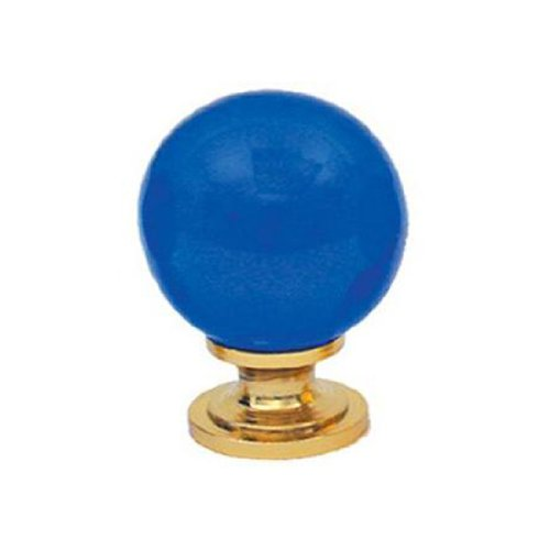 Whitehaus WH32-AM Sphere Shaped Crystal Knob Amber - Sphere Shaped Crystal Knob
