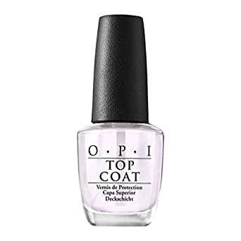 OPI Nail Lacquer Top Coat, Nail Polish Top Coat, Protective High-Gloss Shine