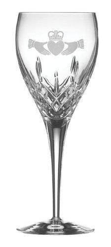 Crystal Galway Set (Galway Crystal Irish Claddagh Goblet Gift Set)