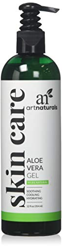 ArtNaturals Aloe Vera Gel, 12 Fluid Ounce