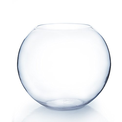 WGV Clear Giant  19 x16-Inch Round Bubble Bowl Vase, Large