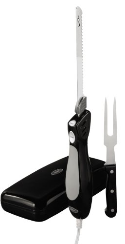 Oster FPSTEK2803B Electric Knife with Carving Fork and Storage Case by Oster (Image #2)