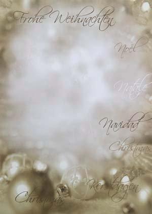 300 x Weihnachtsbrief Weihnachtsbrief Weihnachtsbrief A4 Bogen(21 x 29,7 cm) mit Brief-Umschlägen Din Lang mit Fenster I Motiv  Edle Weihnachtskugeln I Grammatur  100 g m² I Marke  Gustav NEUSER® B01LWOI5SC | Qualität und Quantität garantiert  9c1a01