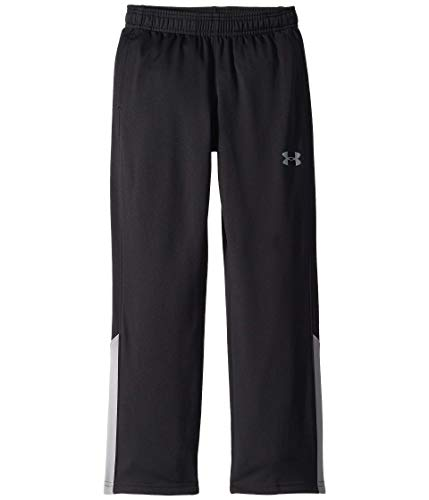 Under Armour Boys' Brawler 2.0 Training Pants, Black (001)/Steel, Youth Medium