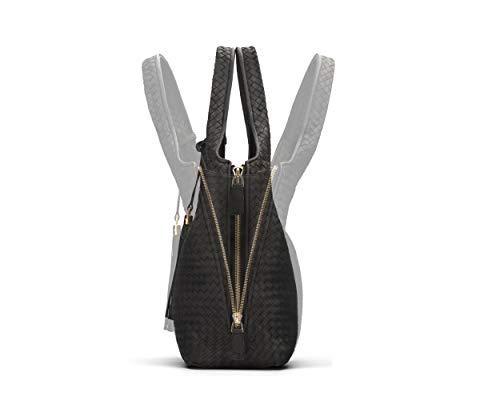 Isabella Woven Black Handbag Woven Sagebrown Handbag Sagebrown Isabella 8n0NvwOm