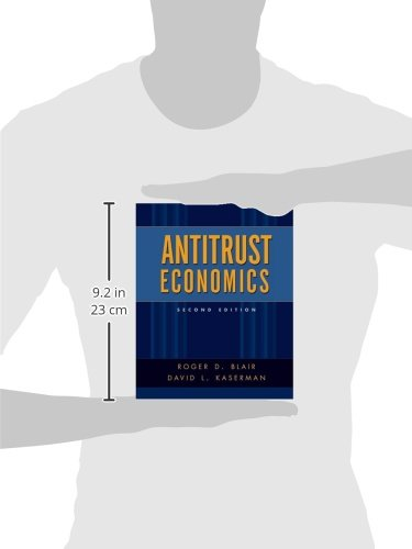 Antitrust Economics by Oxford University Press
