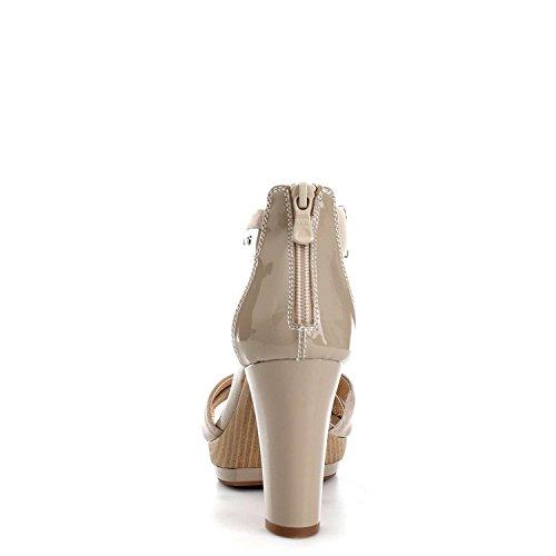 Nero Giardini - Sandalias de vestir para mujer Beige Size: 39 uLsZ444