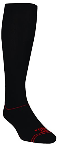 Farm 2 Feet Blackburg Crew - Water Sock comes with a Helicase sock ring; Size: L - Black ()
