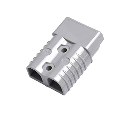 175A 600V Bipolar Power Cable Connector Battery Plug Cable Connector with Plastic Shells Grey 1PC: