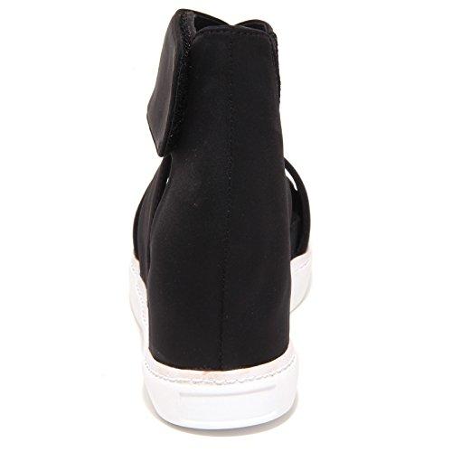 Nella Scarpe Suola Shoe Donna Jeffrey Rosa Woman Sandalo Nero Bordo Campbell 5824o xwxSOqX0