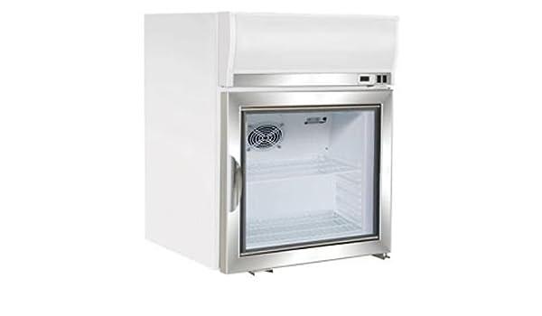 Maxx fría mxm1 - 2.5 F llegar en congelador puerta de cristal ...